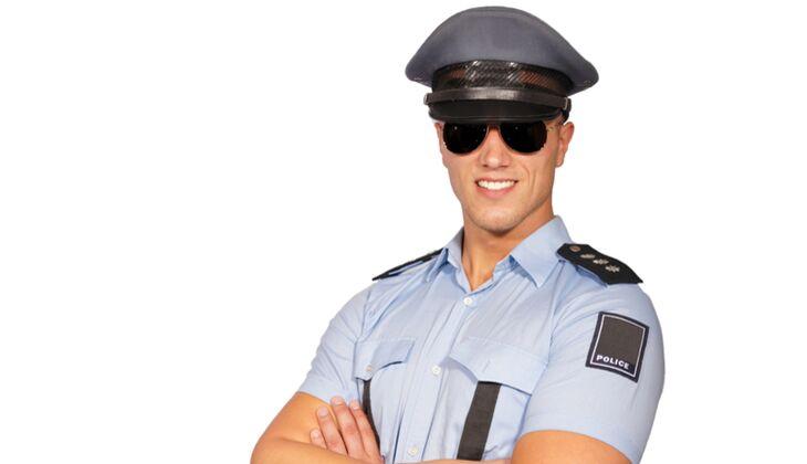 Karnevalskostüme der Männer: Hot Cop