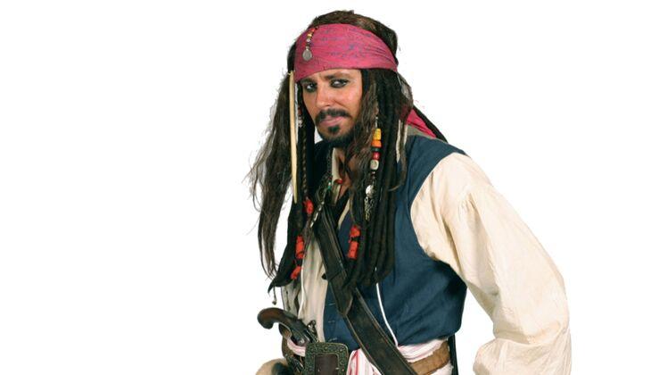 Karnevalskostüme der Männer: Pirat