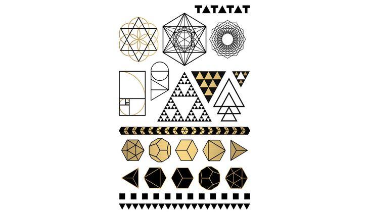 Klebetattoos sind das It Piece des Sommers: Tatatat