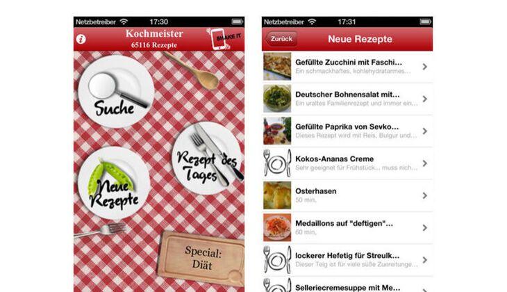 Kochmeister App