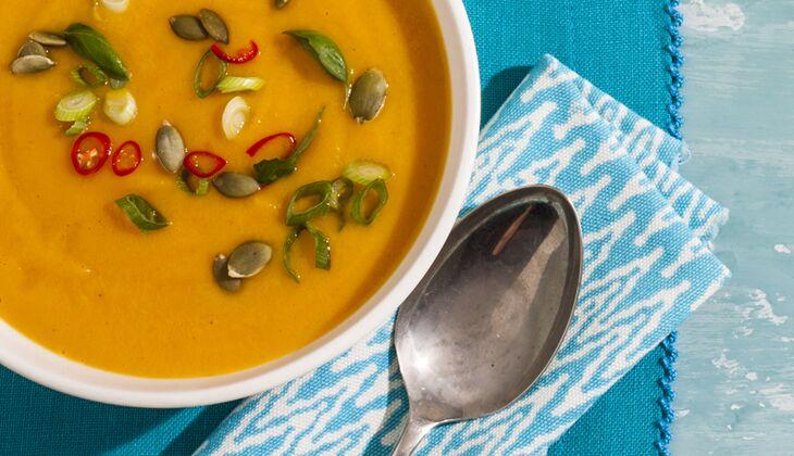 Kokos-Karotten-Suppe