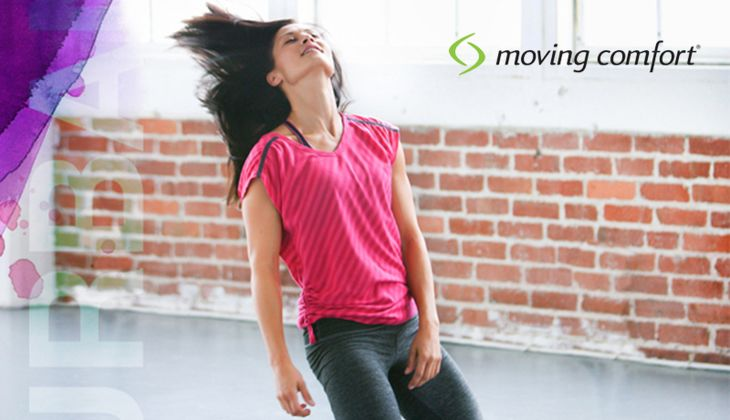 Komplett-Outfit aus der Urban Gym Collection von moving comfort