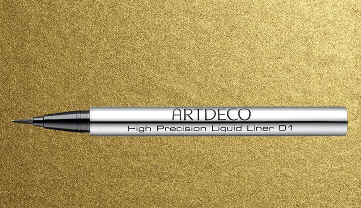 Lidstrich mit Eyeliner: Artdeco High Precision Liquid Liner