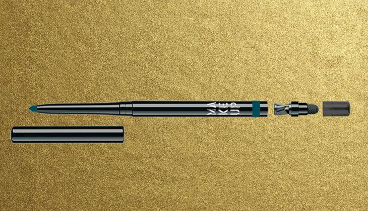 Lidstrich mit Eyeliner: Make Up Factory Automatic Eyeliner