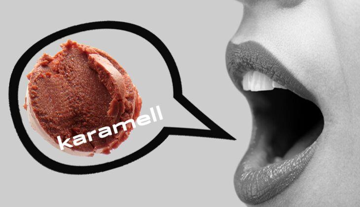 Lippenstift Karamell