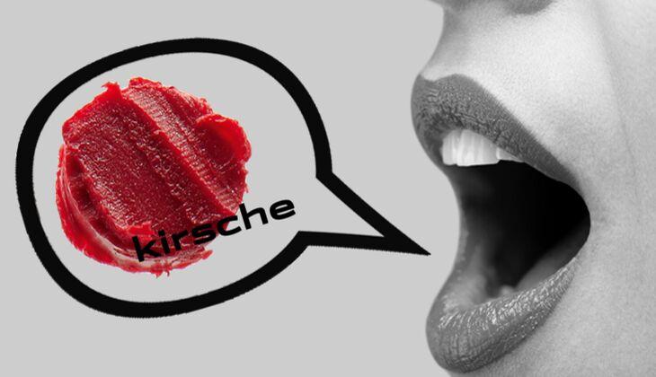 Lippenstift Kirsche