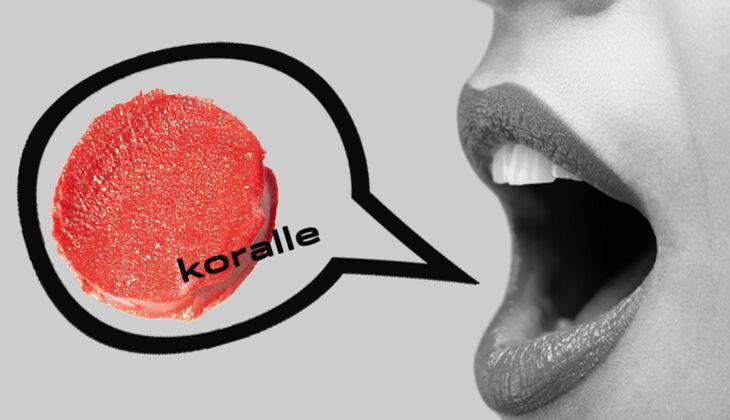 Lippenstift Koralle