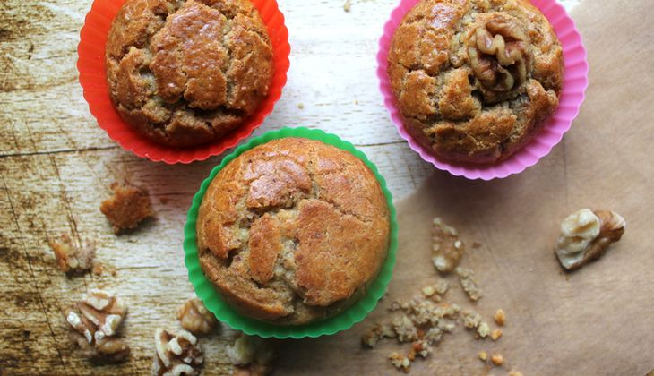 Low Carb-Walnuss-Himbeer-Muffins