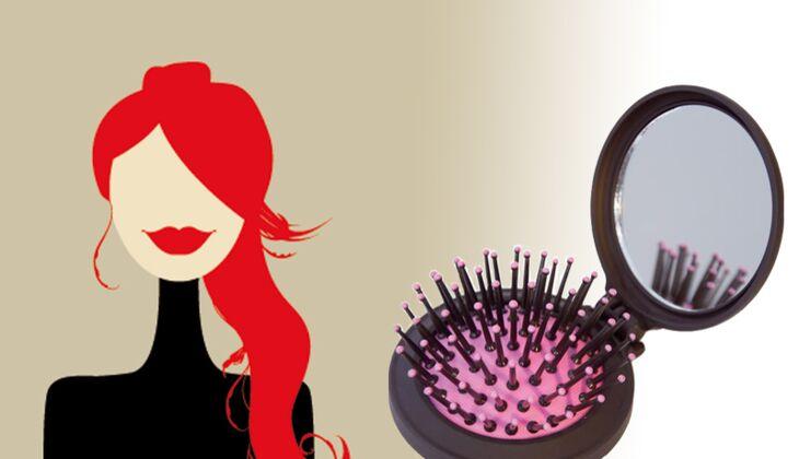 Magicbrush, die Bürste für die Handtasche