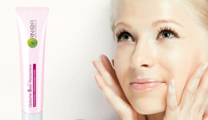 Make-up Trends 2014 Garnier Optischer 5 Sek Retuschierer