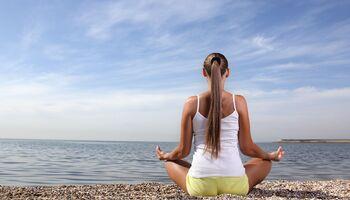 Meditation lindert Schmerzen
