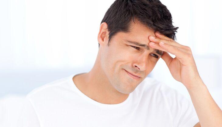 Migräne bei Männer ist nur halb so schlimm wie sie tun