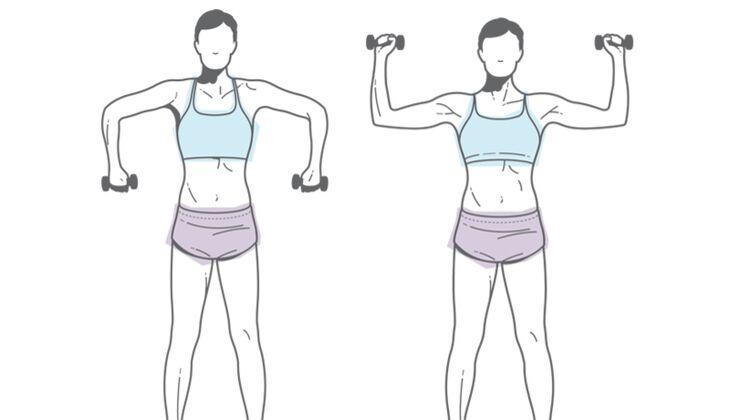 Nackt gut aussehen: Armrotation