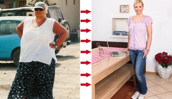 Nadja hat 77 Kilo abgenommen