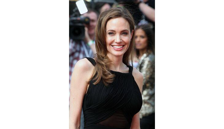 Natürliche Blässe: Angelina Jolie