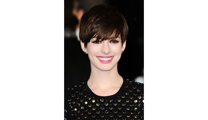 Natürliche Blässe: Anne Hathaway