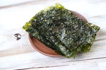 Norialgen eignen sich gut als veganer Fischersatz