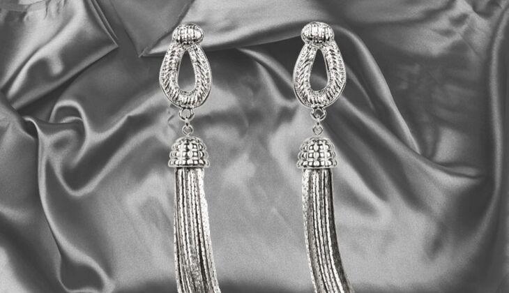 Ohrhänger im Quasten-Look von H&M, zirka 10 Euro