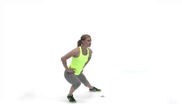Olympia-Workout: Ausfallschritt