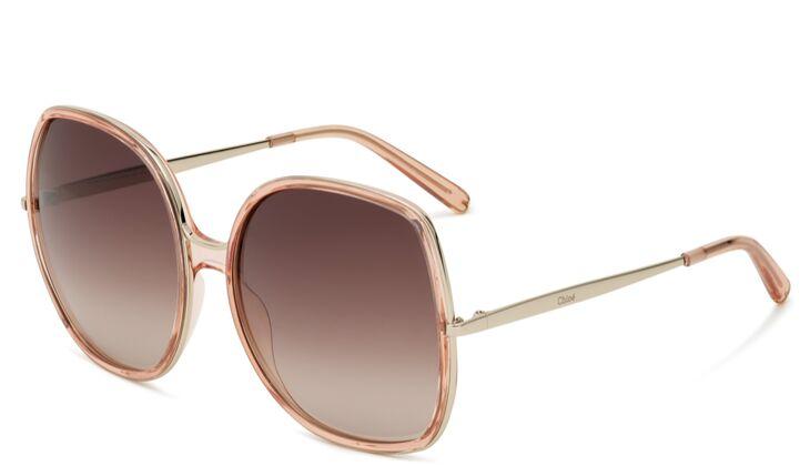 Oversize Sonnenbrille von Chloé
