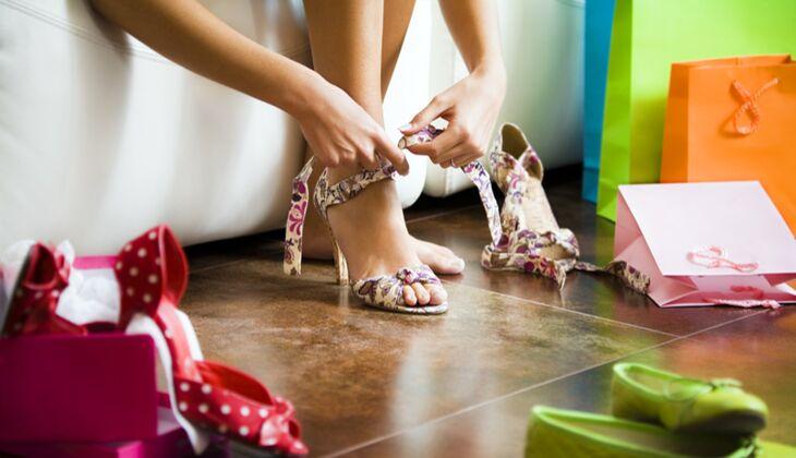 Pflegen Sie Ihren Schuh-Tick