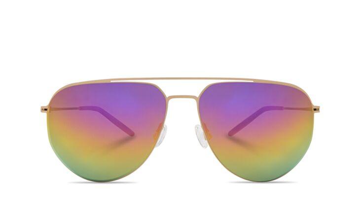 Piloten Sonnenbrille Ombre Bunt