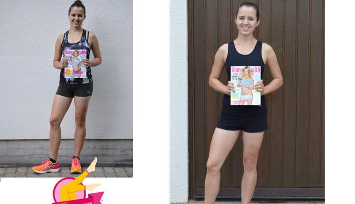 Projekt Schlanke Beine 2015: Julia (23) aus Kandern