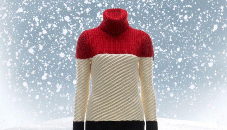 Pullover von Toni Sailer, zirka 330 Euro