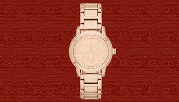 Roségoldene Uhren