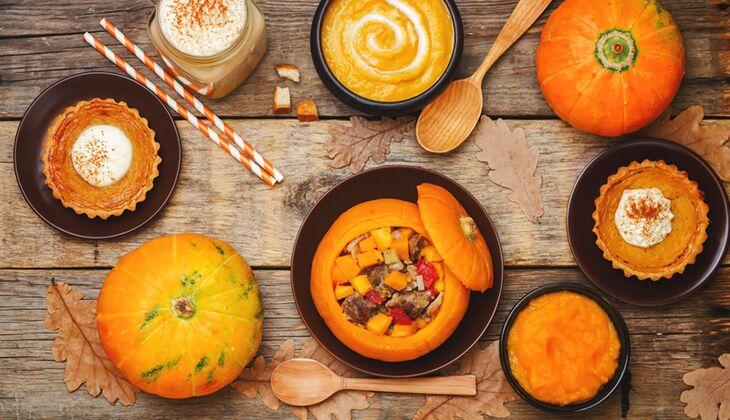 Rund und gesund: Kürbisse liefern jede Menge gesunde Vitamine und Mineralstoffe
