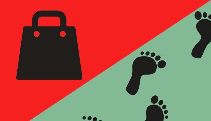 Samstag, 14Uhr: shoppen oder spazieren gehen?