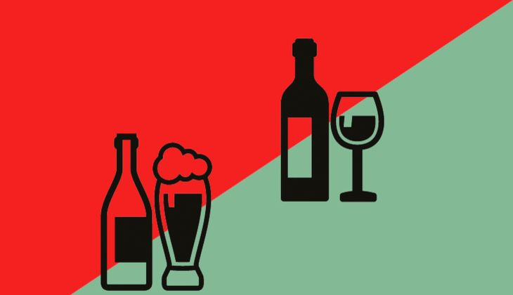Samstag, 23Uhr: Bier oder Wein?