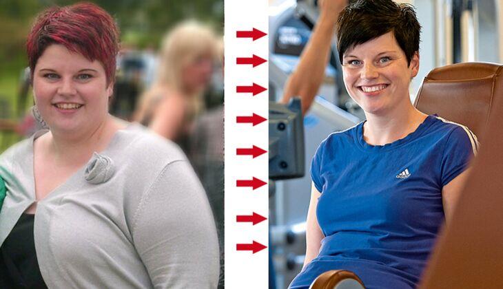 Sandra hat 66 Kilogramm Körpergewicht abgenommen