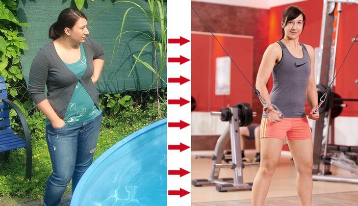 Sarah hat 26 Kilo abgenommen