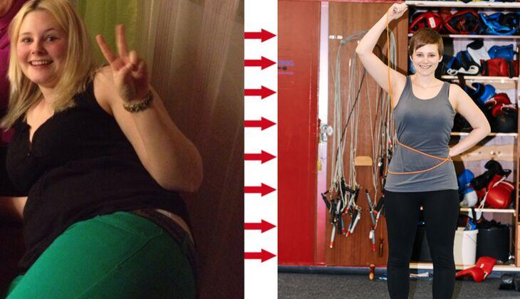 Schnell abnehmen: Christin speckte innerhalb von 7 Monaten 30 Kilo ab