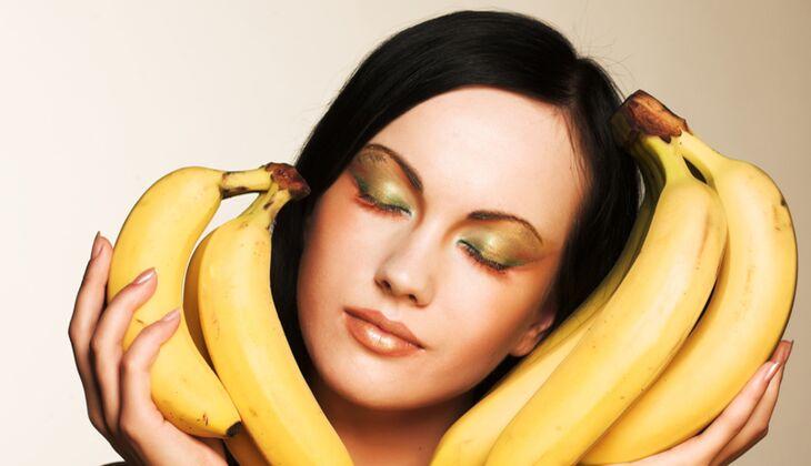Schöne Haare: Banane verhindert Haarschäden