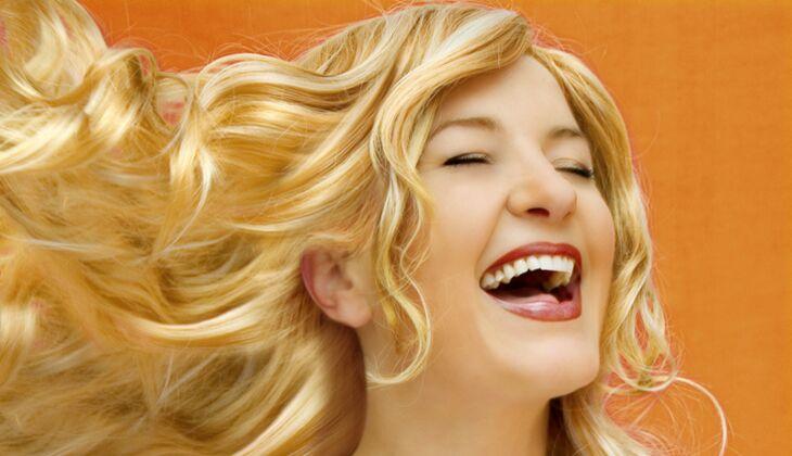Schöne Haare: Essig sorgt für Glanz