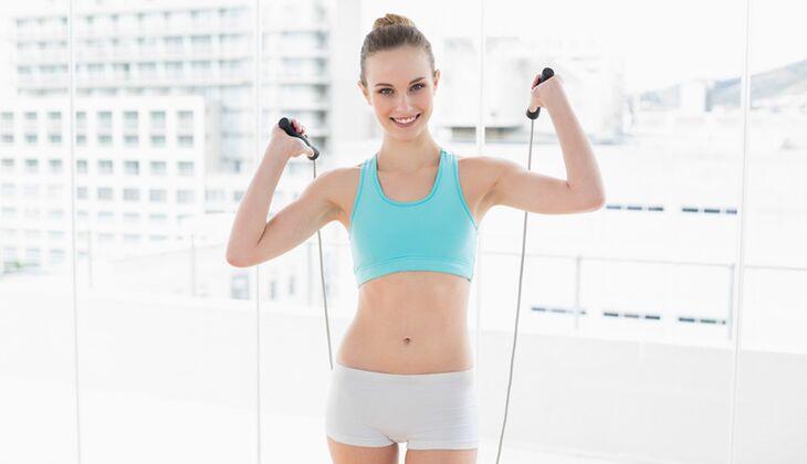 Seilspringen ist ein effektives Ausdauertraining