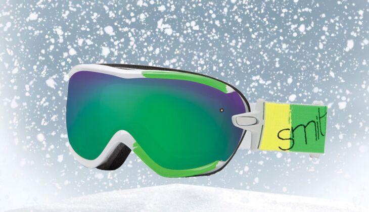 Skibrille von Smith Optics, zirka 130 Euro