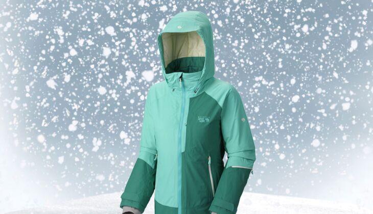 Skijacke von Mountain Hardwear, zirka 420 Euro