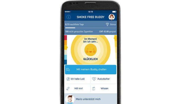 Smoke Free Buddy App