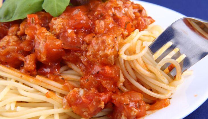 Soja-Sauce nach Bolognese-Art