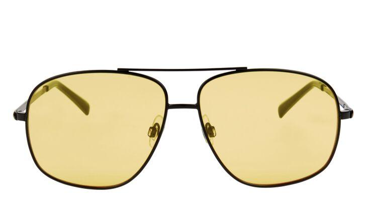 Sonnenbrille gelbe Gläser von ASOS