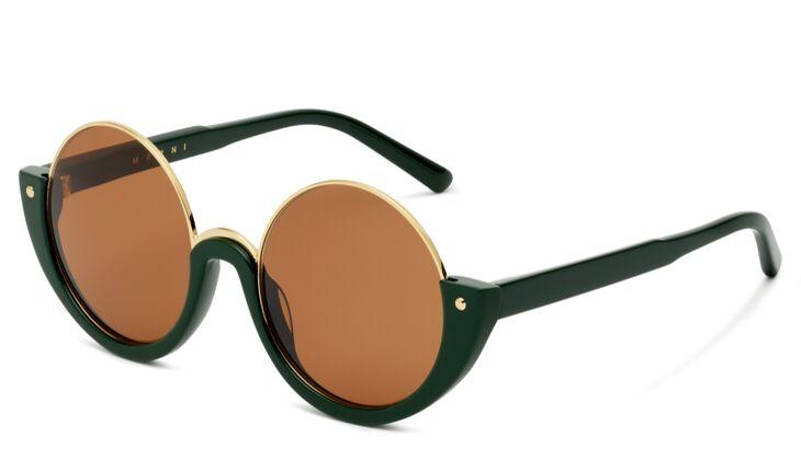 Sonnenbrille halb von Marni