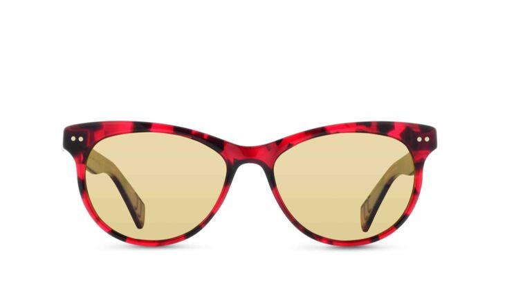 Sonnenbrille rot von Lunor