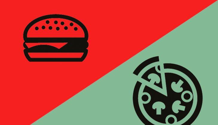 Sonntag, 2 Uhr: Pizza oder Burger?
