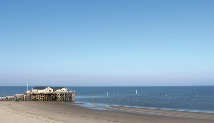 Strand an der Nordsee: St. Peter-Ording