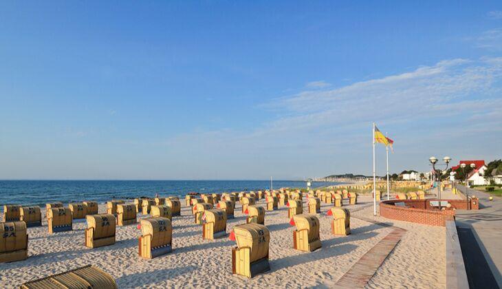Strand an der Ostsee: Grömitz