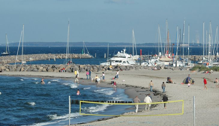 Strand an der Ostsee: Kühlungsborn