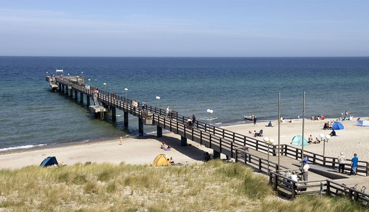 Strand an der Ostsee: Rerik